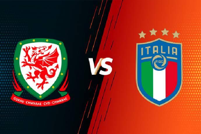 Link xem trực tiếp Ý vs Xứ Wales hôm nay 20/06, bóng đá Euro 2021