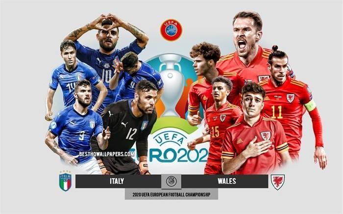 Tỷ lệ kèo nhà cái Italia vs Xứ Wales hôm nay lúc 23h00, Euro 2021