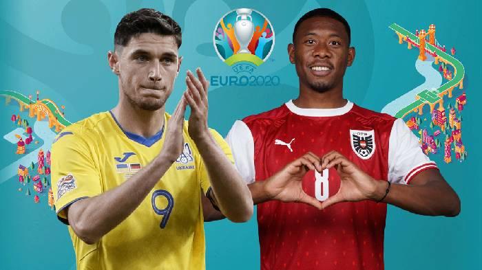 Link xem trực tiếp Ukraine vs Áo hôm nay trên kênh nào?