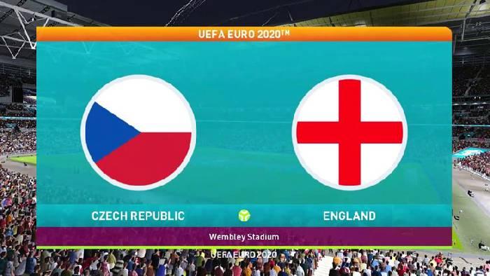 Link xem trực tiếp CH Séc vs Anh hôm nay 02h00, bảng D Euro 2021