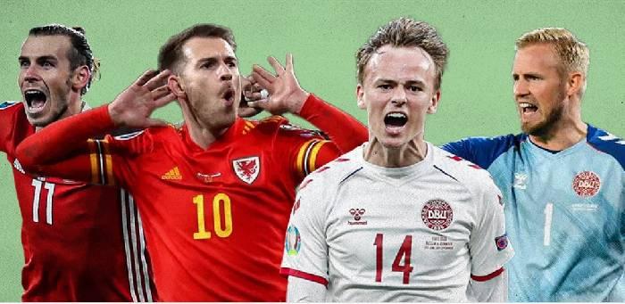 Danh sách đội hình ra sân dự kiến Xứ Wales vs Đan Mạch tối nay