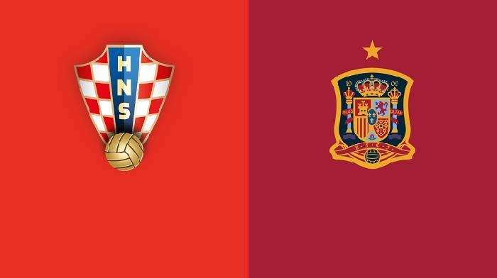 Danh sách đội hình ra sân dự kiến Croatia vs Tây Ban Nha hôm nay