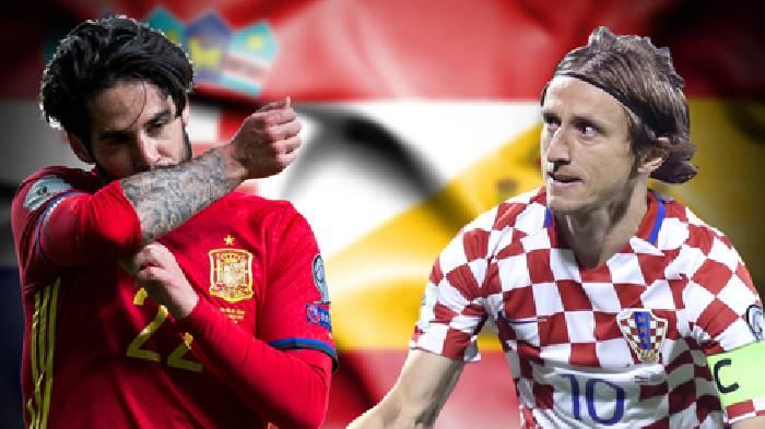 Lịch sử đối đầu Croatia vs Tây Ban Nha hôm nay 23h00 ngày 28/06