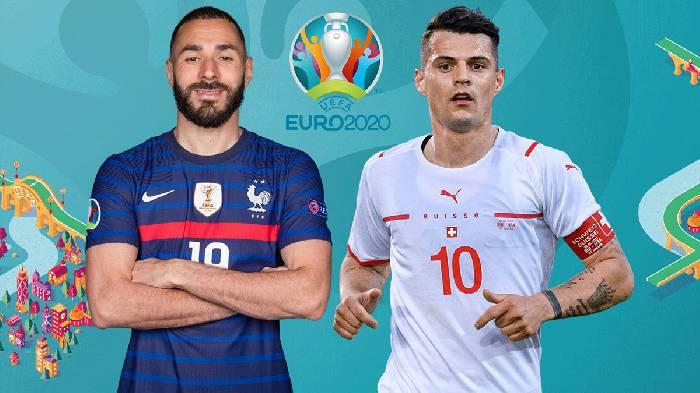 Link trực tiếp Pháp vs Thụy sĩ hôm nay lúc 02h00 ngày 29/06