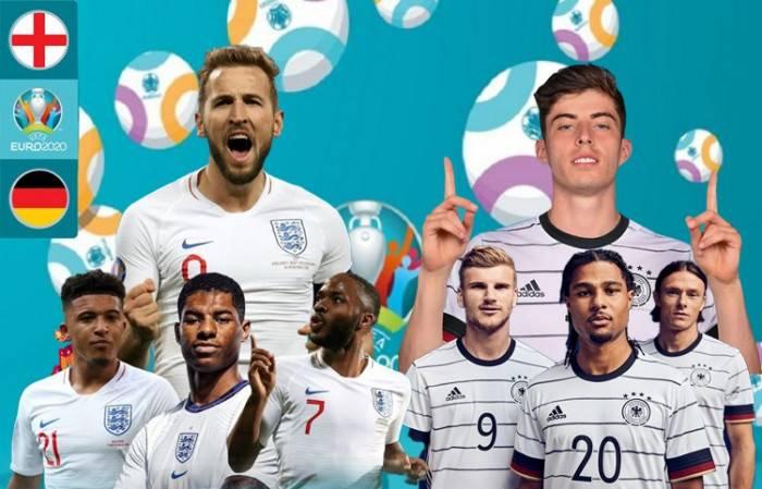 Danh sách đội hình ra sân dự kiến Anh vs Đức hôm nay Euro 2021