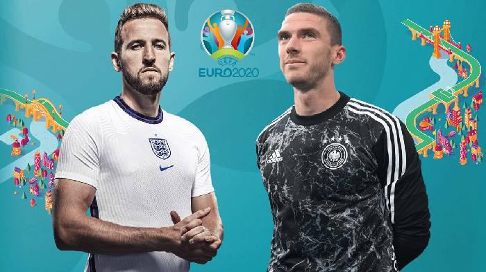 Lịch sử đối đầu Anh vs Đức hôm nay 23h00 ngày 28/06