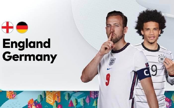 Tỷ lệ soi kèo nhà cái Anh vs Đức hôm nay lúc 23h00 Euro 2021