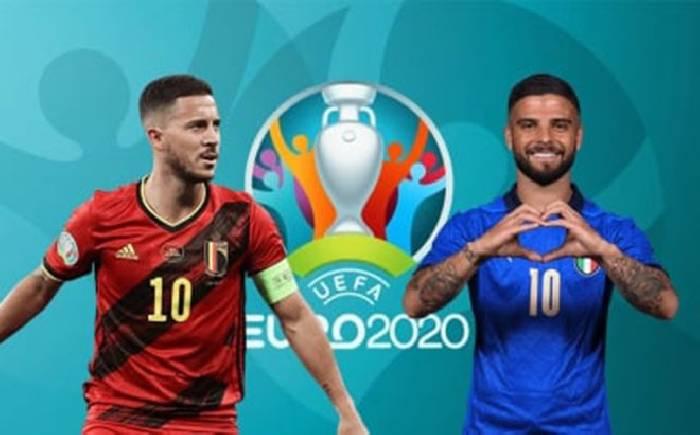 Tỷ lệ soi kèo nhà cái Bỉ vs Ý hôm nay lúc 02h00 ngày 03/07