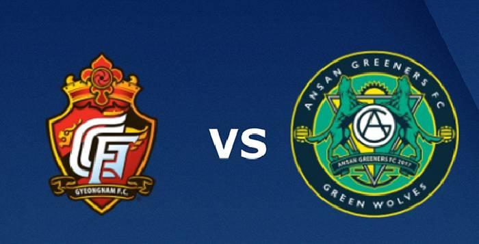 Link xem trực tiếp Ansan Greeners FC vs Gyeongnam FC, 17h30 ngày 12/07