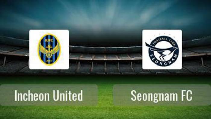 Link xem trực tiếp Incheon United vs Seongnam FC, 18h00 ngày 20/07