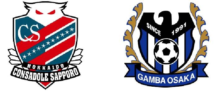 Link xem trực tiếp Consadole Sapporo vs Gamba Osaka hôm nay lúc 16h00 ngày 30/07