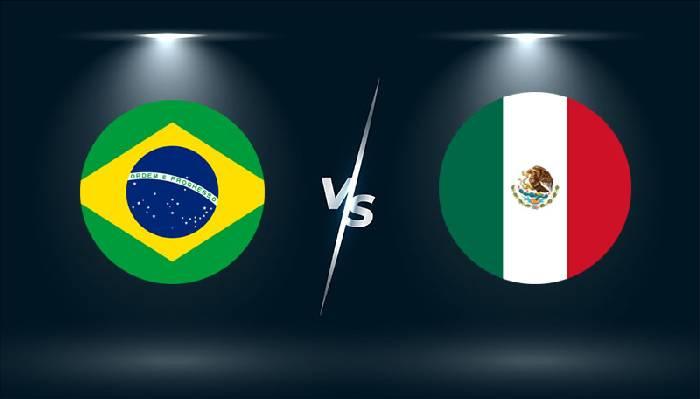 Link xem trực tiếp U23 Mexico vs U23 Brazil hôm nay lúc 15h00