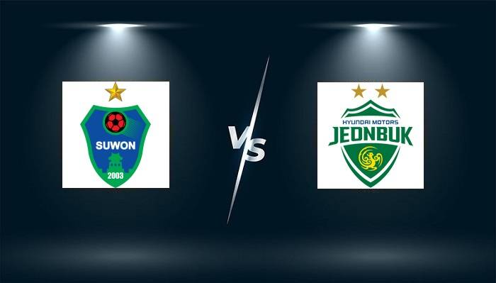 Link xem trực tiếp Suwon City vs Jeonbuk Hyundai Motors hôm nay lúc 17h30
