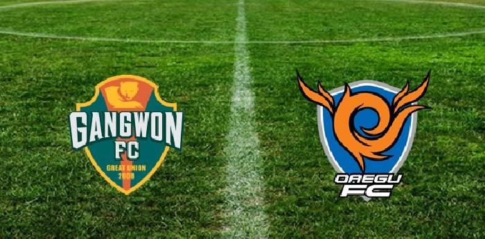 Link xem trực tiếp bóng đá Hàn Quốc, Gangwon FC vs Daegu FC