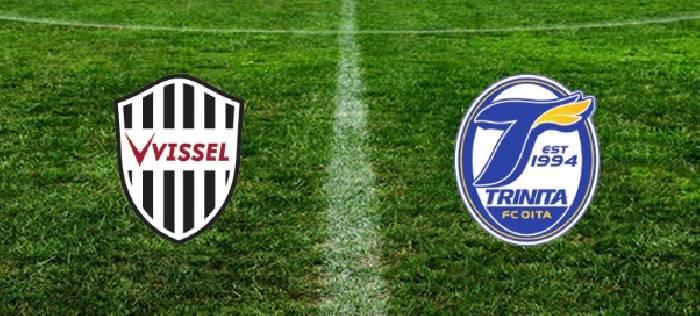 Xem trực tiếp bóng đá Oita Trinita vs Vissel Kobe hôm nay