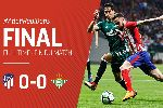 Bảng xếp hạng La Liga 2017/18 ngày 24/04: Atletico Madrid 'giúp' Barca tiến sát ngôi vương