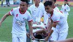 Cầu thủ Viettel gặp chấn thương kinh hoàng ở Giải hạng Nhất QG