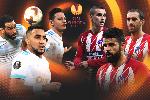 Đội hình dự kiến Marseille vs Atletico Madrid (Chung kết Cúp C2 2018)