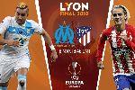 Dự đoán đội vô địch cúp C2 Europa League 2017/18: Marseille vs Atletico Madrid