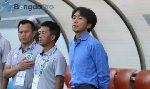 HLV Miura bất lực nhìn 'con tàu' TP HCM đang đắm dần tại V-League