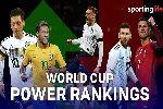 Bảng xếp hạng FIFA tháng 6: Đức giữ vị trí số 1 trước World Cup 2018