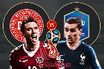 Nhận định bảng C World Cup 2018 lượt 3 (21h00 ngày 26/6): Đan Mạch vs Pháp