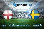Chuyên gia dự đoán tỷ số Anh vs Thụy Điển, 21h ngày 7/7