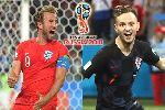 Dự đoán đội hình Anh vs Croatia (1h ngày 12/7)
