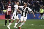 Juventus 2-1 AC Milan: Bà đầm già một tay cầm cúp vô địch