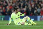 MU vs Barcelona: Bàn tay run rẩy của Messi?