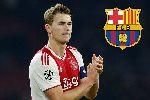 Thực hư vụ Barca đạt thỏa thuận chiêu mộ De Ligt