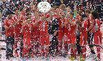Bayern Munich lên ngôi vô địch Bundesliga lần thứ 7 liên tiếp