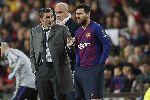 HLV Valverde yên vị tại Barca do Messi chống lưng