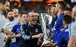 HLV Sarri muốn ở lại Chelsea sau chức vô địch Europa League