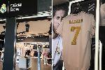 Lộ diện số áo của Eden Hazard tại Real Madrid