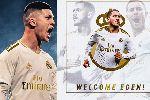 Đội hình Real Madrid 2019: Eden Hazard