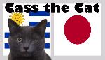 Tiên tri mèo Cass dự đoán Uruguay vs Nhật Bản, 6h ngày 21/6