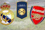 Trực tiếp Real Madrid vs Arsenal trên kênh nào?