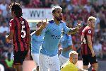 Kết quả bóng đá Anh hôm nay (26/8): Aguero tỏa sáng giúp MC áp sát Liverpool