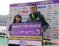 Ngôi sao Đông Nam Á đầu tiên ghi bàn và giành danh hiệu hay nhất trận ở J-League