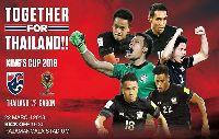 Trực tiếp Thái Lan vs Gabon, 19h30 ngày 22/3 (Bán kết King's Cup 2018)