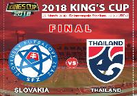 Kết quả Thái Lan vs Slovakia (FT 2-3): Người Thái mất Cup trên sân nhà
