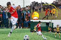 Thần đồng Lê Anh Đức không thích Messi, thần tượng Aguero