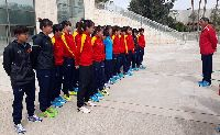 ĐT nữ Việt Nam khiến các đối thủ bất ngờ ngay khi đến Jordan