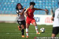 Kết quả nữ Thái Lan 0-4 nữ Trung Quốc (bảng A, VCK nữ châu Á 2018)