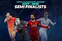 Trực tiếp bán kết cúp C1 Champions League 2017/2018 trên kênh nào?