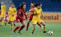 Video Nữ Nhật Bản 1-1 Nữ Úc (Bảng B Asian Cup 2018)
