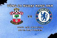 Xem trực tiếp Southampton vs Chelsea (18h30 ngày 14/4) trên kênh nào?