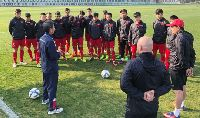 HLV Hoàng Anh Tuấn muốn các học trò phát huy được tinh thần như U23 Việt Nam