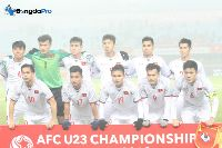 U23 Việt Nam 'chung mâm' với Nhật Bản và Hàn Quốc ở vòng loại châu Á 2020